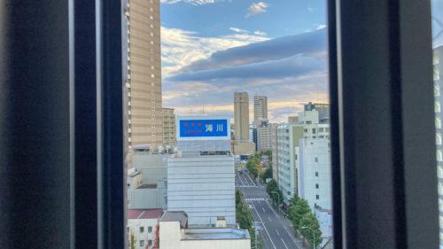 『HOTEL CLASSE STAY SAPPORO』の眺め。10階から。