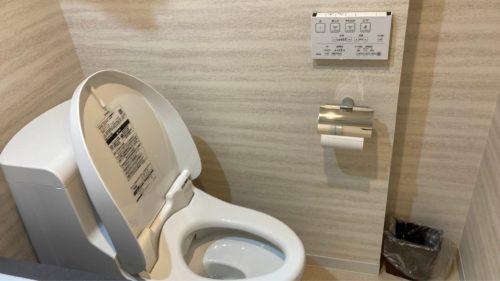 『HOTEL CLASSE STAY SAPPORO』のトイレ。(ツインルーム)