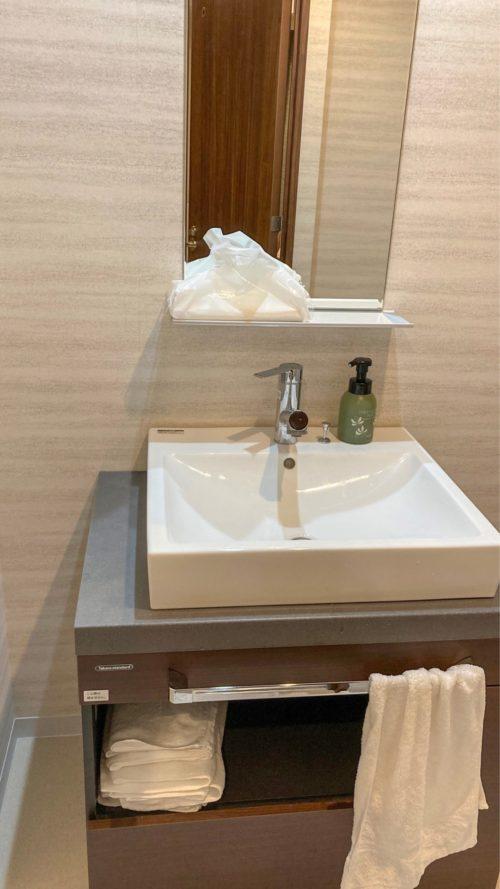 『HOTEL CLASSE STAY SAPPORO』の独洗。