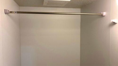 『HOTEL CLASSE STAY SAPPORO』の浴室にある物干し棒。(ツインルーム)
