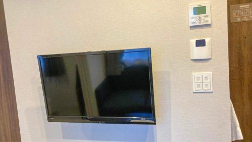 『HOTEL CLASSE STAY SAPPORO』のテレビ。