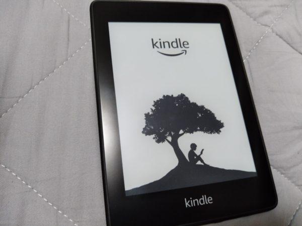 『Kindle Paperwhite』初期化中の画面。